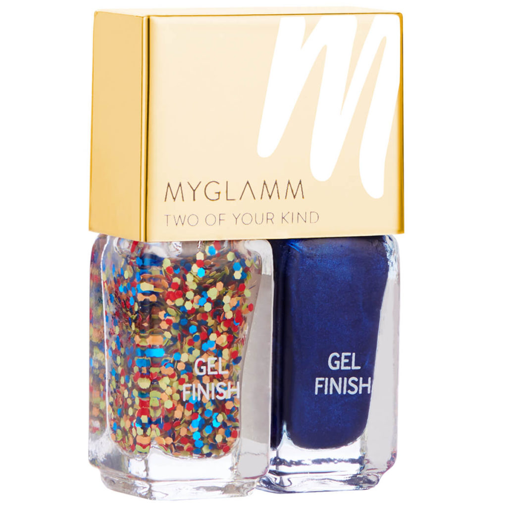 MyGlamm Two Of Your Kind Nail Enamel Duo