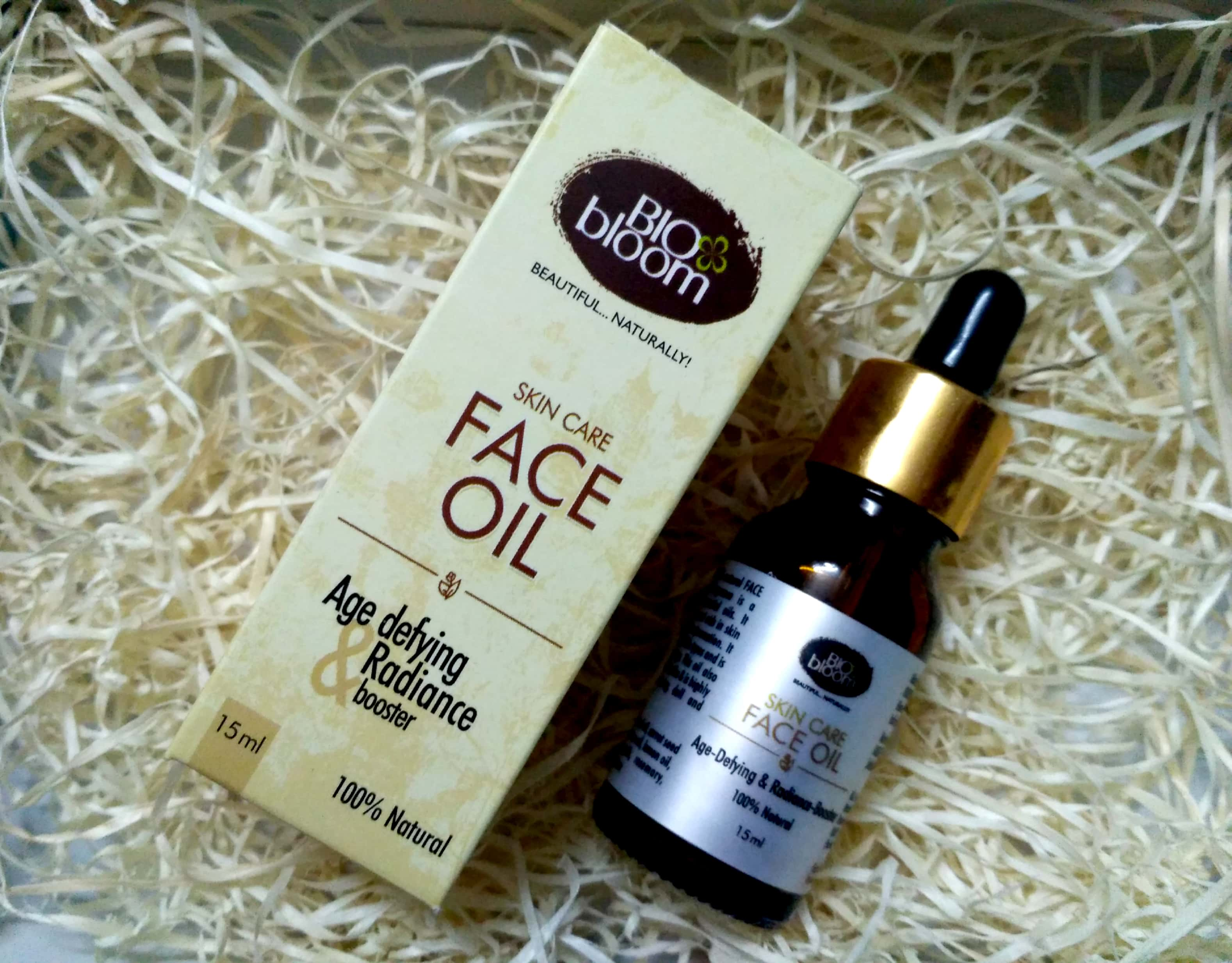 BioBloom Face Oil Age Defying Booster