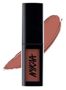 Nykaa Matte To Last Liquid Lipsticks Madras-Kaapi 05