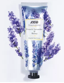 Nykaa Whipped With Love Hand & Nail Creme - French Lavender & Honey