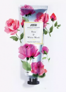 Nykaa Whipped With Love Hand & Nail Creme - Rose & White Musk