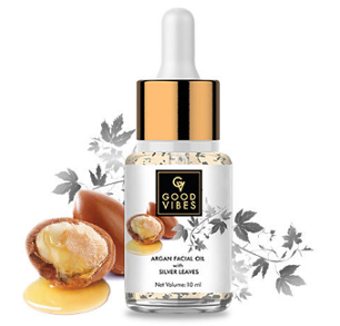 Good Vibes Argan Facial Oil With Silver Leaves Review