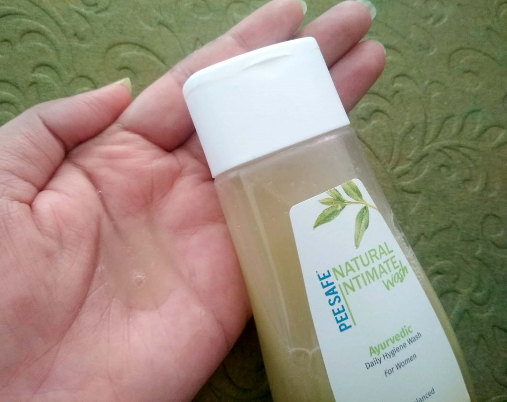 Appearance Of PeeSafe Natural Intimate Wash