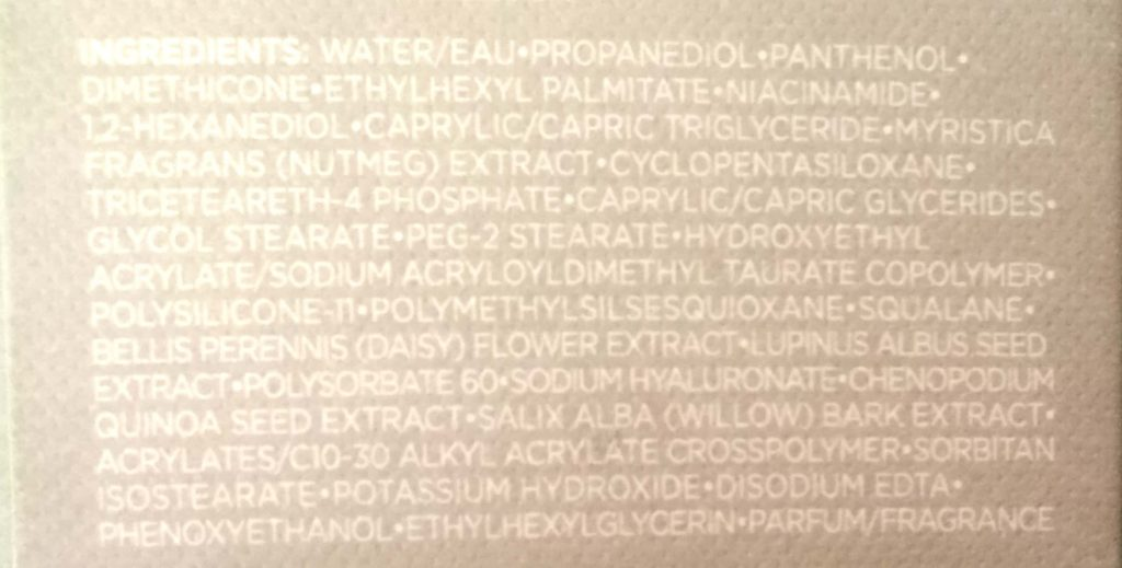 The Face Shop White Seed Brightening Serum Ingredients