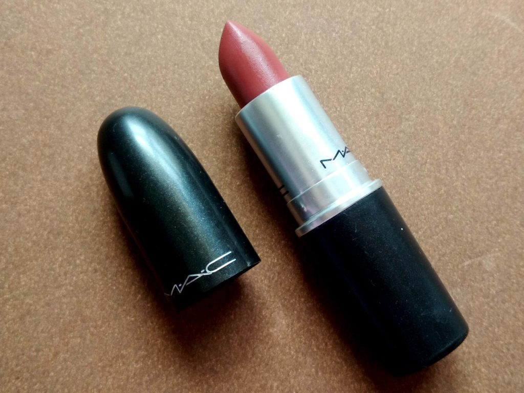 Packaging Of MAC Lipstick