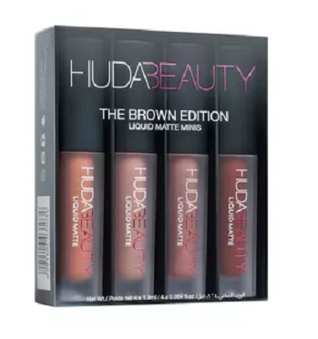 Huda Beauty Liquid Matte Minis - The Brown Edition
