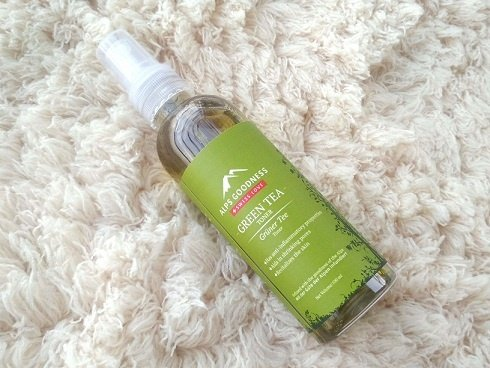 Alps Goodness Green Tea Toner Review