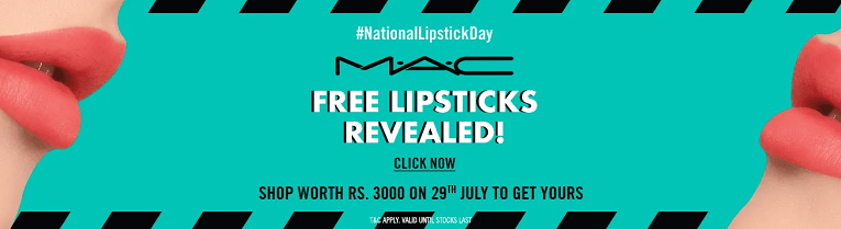 MAC Is Giving Free Lipstick On #NationalLipstickDay