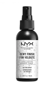 NYX Dewy Finish Makeup Setting Spray Review