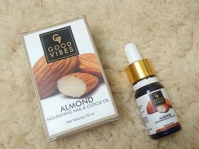 Good Vibes Almond Nail & Cuticle Oil