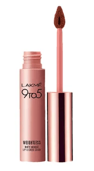 Independence Day Sale On Nykaa On Lakme 9 to 5 Weightless Matte Mousse Lip & Cheek Color