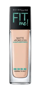 One Of The Best Foundations For Combination Skin - Maybelline New York Fit Me Matte + Poreless Foundation