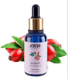 Nykaa Naturals Rosehip Facial Oil - Pure Cold Pressed